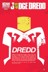 JUDGE DREDD #21 SUB COVER