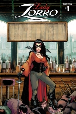 LADY ZORRO #1 RETAILER COVER