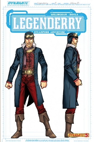 LEGENDERRY A STEAMPUNK ADVENTURE #5 FLASH COVER