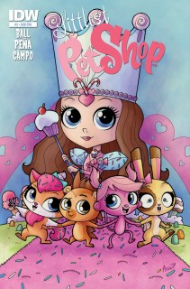 LITTLEST PET SHOP #3 SUB COVER