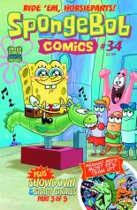 SPONGEBOB COMICS #34
