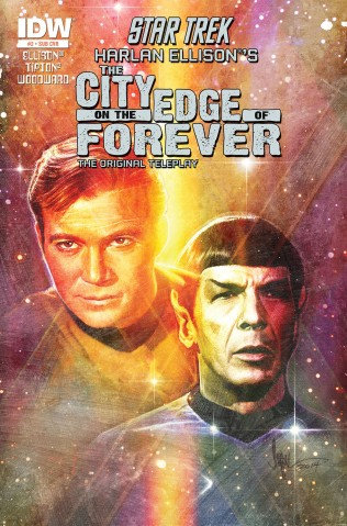 STAR TREK CITY ON THE EDGE OF FOREVER #2 SUB COVER