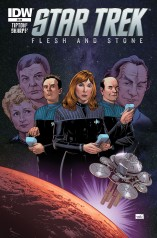 STAR TREK FLESH AND STONE ONE-SHOT