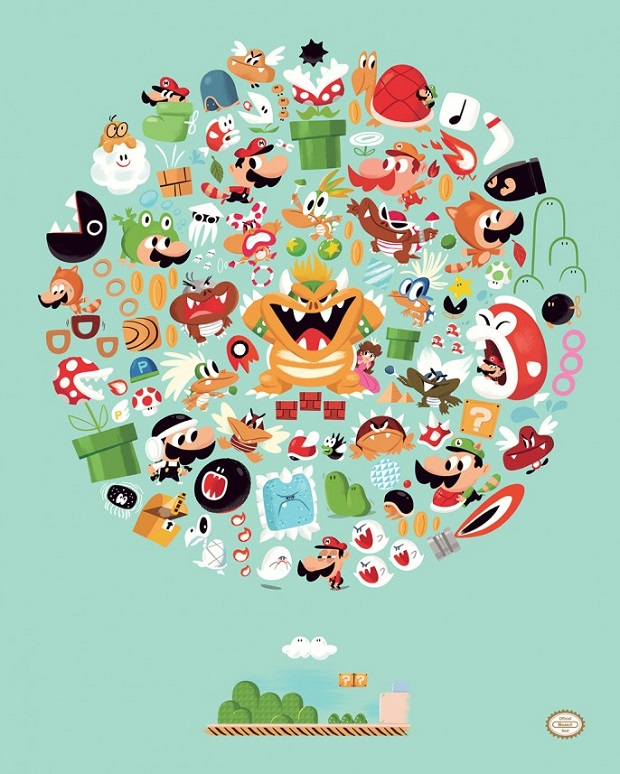 Super Mario Bros. 3 by Christopher Lee