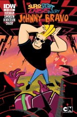 SUPER SECRET CRISIS WAR JOHNNY BRAVO #1 SUB COVER
