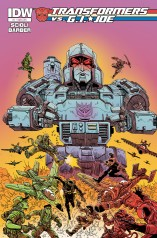 TRANSFORMERS VS. G.I. JOE #1 SUB COVER