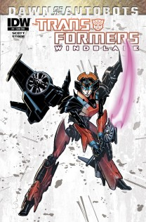 TRANSFORMERS WINDBLADE #4 SUB COVER