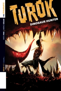 TUROK DINOSAUR HUNTER #6 LEE COVER