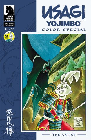 USAGI YOJIMBO COLOR SPECIAL THE ARTIST