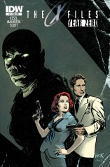 X-FILES YEAR ZERO #1 COVER
