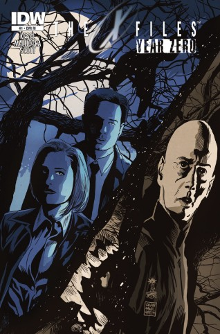X-FILES YEAR ZERO #1 VARIANT