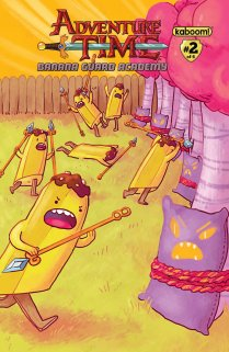 ADVENTURE TIME BANANA GUARD ACADEMY #2 COVER B