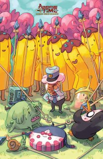 ADVENTURE TIME BANANA GUARD ACADEMY #2 COVER C
