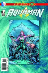 AQUAMAN FUTURES END #1 STANDARD COVER