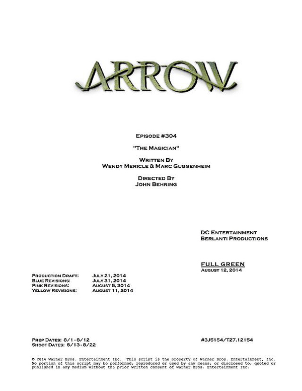 Arrow Episode #50