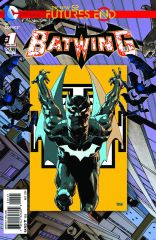 BATWING FURTURES END #1 STANDARD COVER