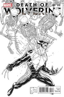 DEATH OF WOLVERINE #1 VARIANT D