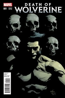 DEATH OF WOLVERINE #1 VARIANT E