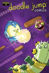DOODLE JUMP #3 VIDEO GAME COVER
