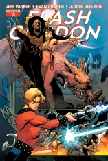 FLASH GORDON #5 80TH ANNIVERSARY COVER