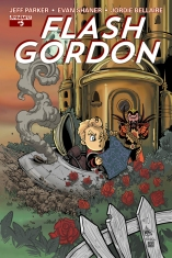 FLASH GORDON #5 SUB COVER