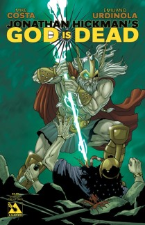 GOD IS DEAD #18 END OF DAYS COVER