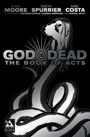 GOD IS DEAD THE BOOK OF ACTS ALPHA LEATHER COVER