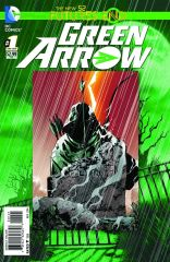 GREEN ARROW FUTURES END #1 STANDARD COVER