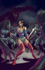 GRIMM FAIRY TALES VS. WONDERLAND #2 COVER A