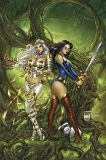 GRIMM FAIRY TALES VS. WONDERLAND #2 COVER C