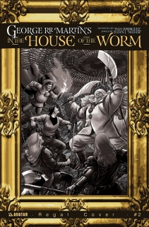 IN THE HOUSE OF THE WORM #2 REGAL COVER