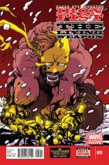 IRON FIST THE LIVING WEAPON #5