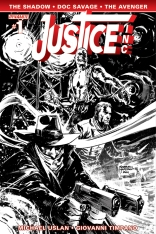 JUSTICE INC. #1 HARDMAN BLACK AND WHITE COVER
