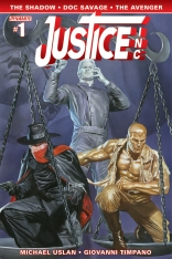 JUSTICE INC. #1 ROSS COVER