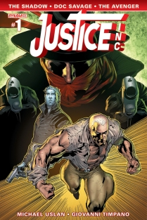 JUSTICE INC. #1 SYAF COVER