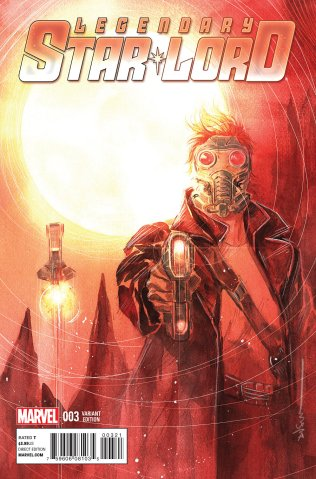 LEGENDARY STAR-LORD #3 VARIANT