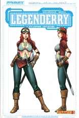 LEGENDERRY A STEAMPUNK ADVENTURE #6 CONCEPT COVER
