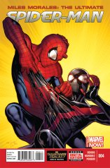 MILES MORALES ULTIMATE SPIDER-MAN #4