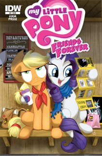 MY LITTLE PONY FRIENDS FOREVER #8