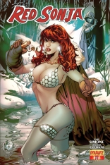 RED SONJA #11 LUPACCHINO COVER