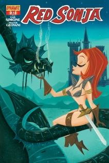 RED SONJA #11 SUB COVER