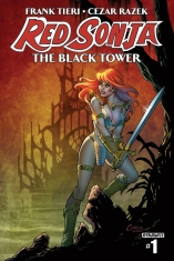 RED SONJA THE BLACK TOWER #1