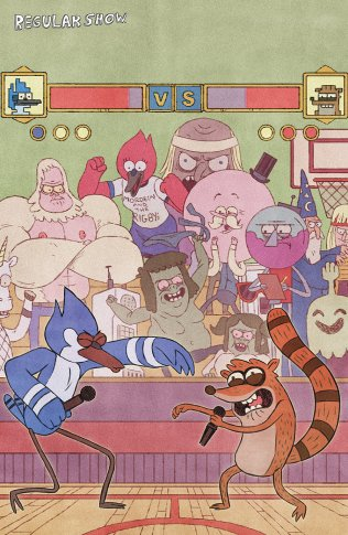REGULAR SHOW #14 COVER C