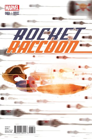 ROCKET RACCOON #3 VARIANT