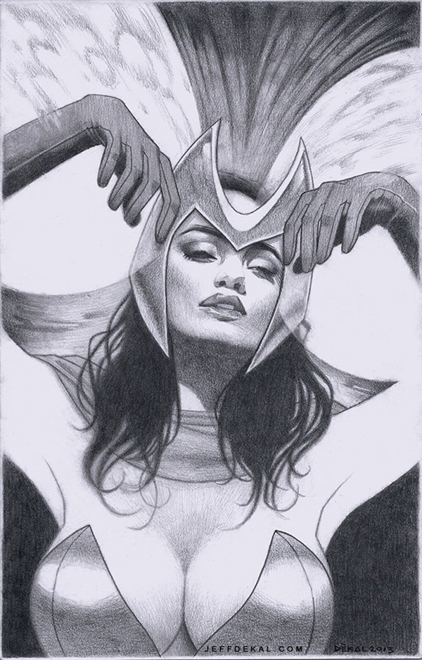 Scarlet Witch by Jeff Dekal
