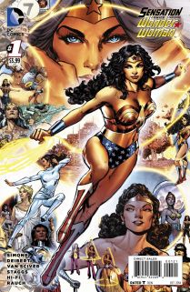 SENSATION COMICS FEATURING WONDER WOMAN #1 VARIANT