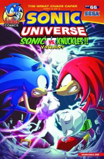 SONIC UNIVERSE #66 VARIANT