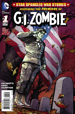 Star Spangeled War Stories Featuring GI Zombie #1