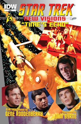STAR TREK NEW VISIONS TIME'S ECHO