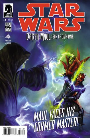 STAR WARS DARTH MAUL SON OF DATHOMIR #4